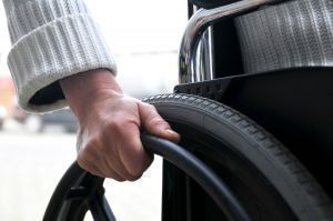 Electric wheelchairs aid mobility.