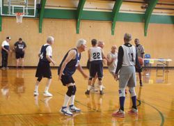 Triple Threat 3-3 Basketball team at the Washington State Senior Games