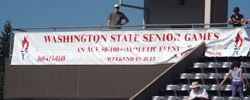 Washington State Senior Games - Sign