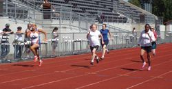 Women running at the Washington State Senior Games