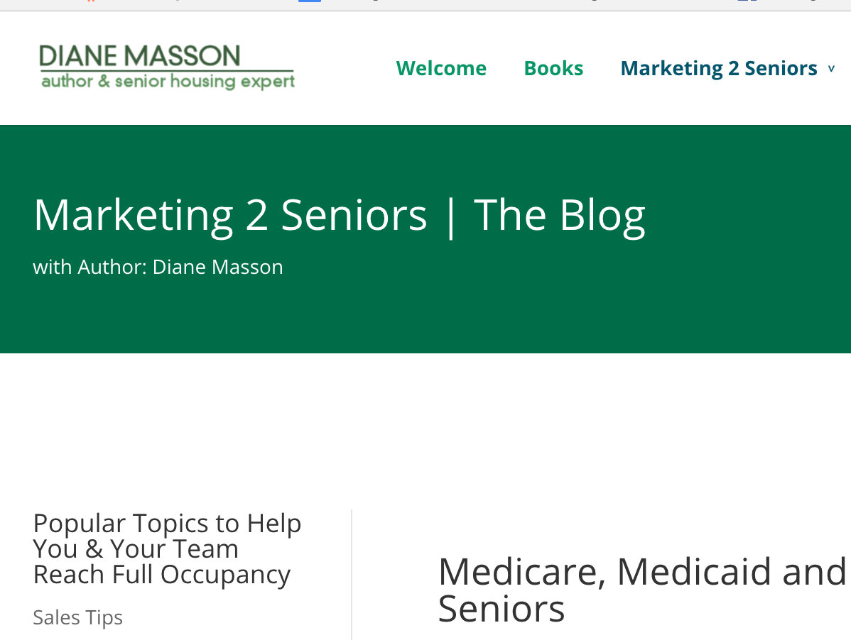 Marking 2 Seniors blog
