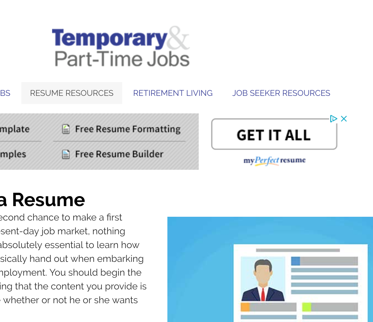 Temparary and Part-Time Jobs