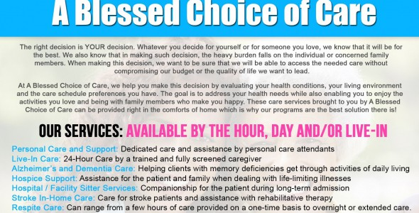 A Blessed Choice of Care LLC
